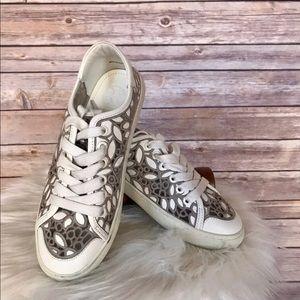 a2817285087 Tory Burch Shoes - TORY BURCH RHEA LACE UP SNEAKERS